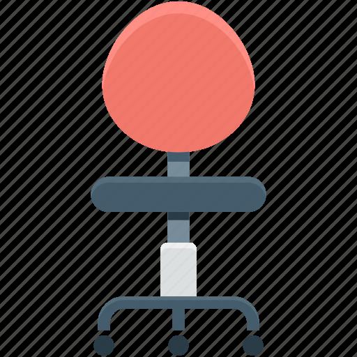 chair, furniture, mesh chair, office chair, swivel chair icon