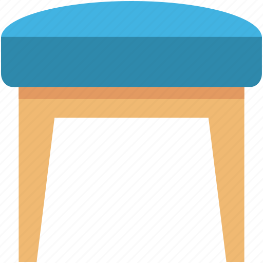 couch, furniture, seat sofa, settee, sofa table icon
