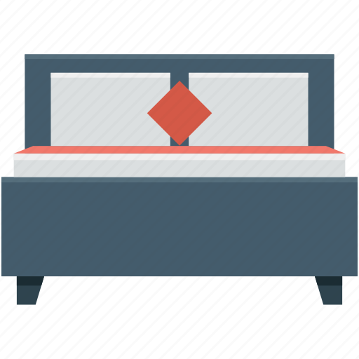 bed, bedroom, bedroom furniture, furniture, sleep icon