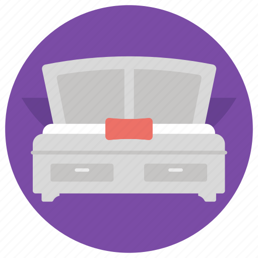 Bed, bedroom, relax, room, sleep icon - Download on Iconfinder