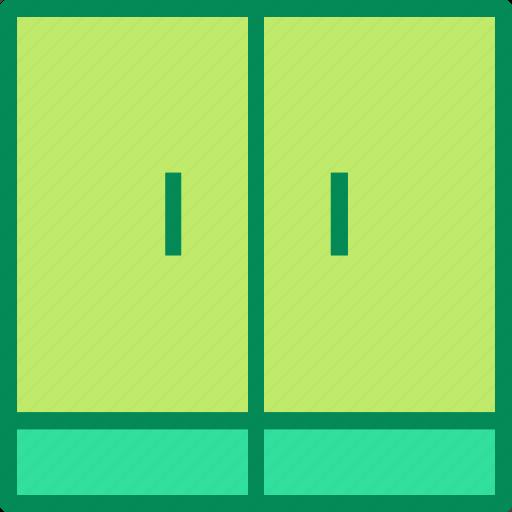 cabinet, closet, cupboard icon
