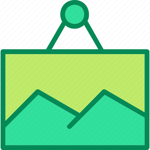 frame, photo, picture icon