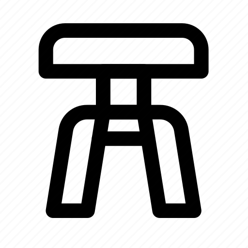 chair, furniture, household, room icon