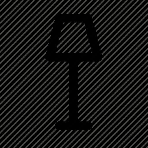furniture, household, lamp, light, room icon