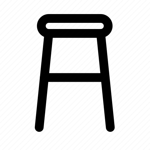 bar, chair, furniture, household, room icon
