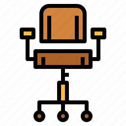 chair, furniture, office chair icon