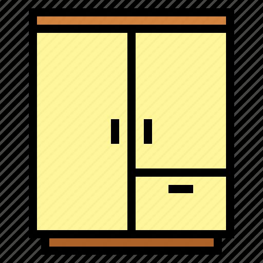 furniture, wardrobe icon
