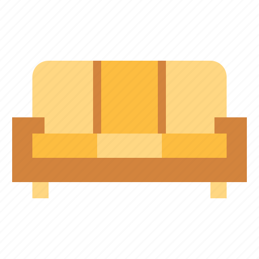 couch, furniture, sofa icon