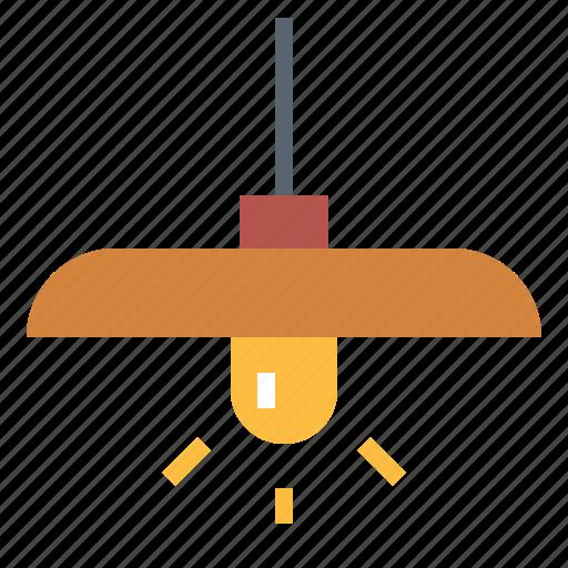 ceiling, hang, lamp, lamps, lightbulb icon