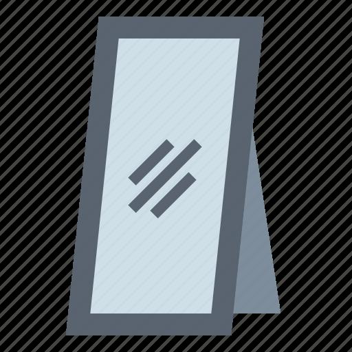 furniture, mirror, vertical icon