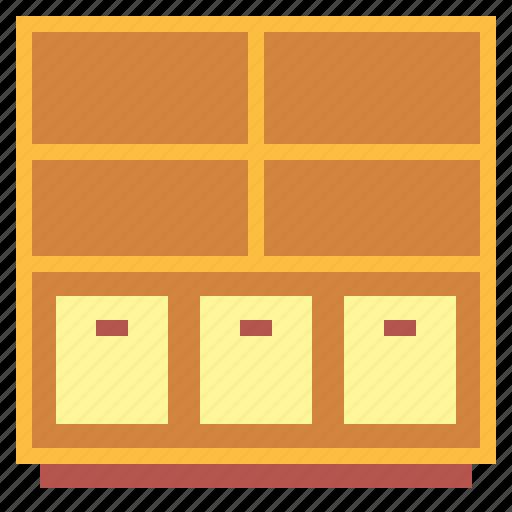 furniture, shelves, shelving icon
