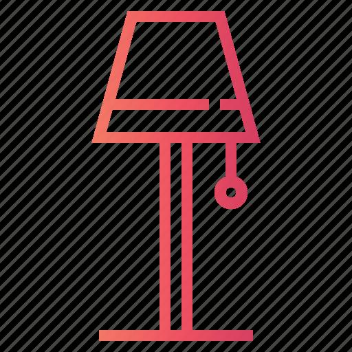 floor lamp, lamp, light icon