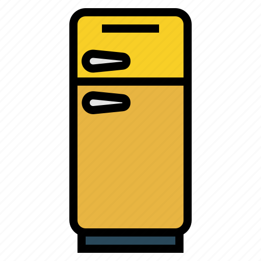 cold, freezer, fridge, kitchen, refrigerator icon