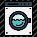 machine, robot, washing icon