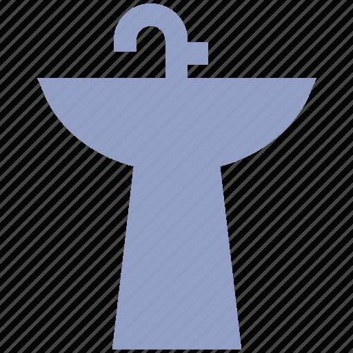 appliance, bathroom, faucet, housewares, interior, sink, washbasin, washstand, water icon