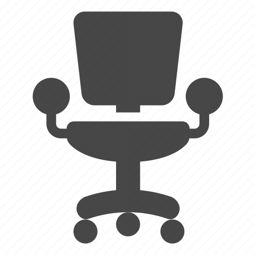 furniture, office chair icon