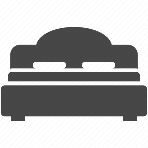 Bed, double, furniture, interior, sleep icon - Download on Iconfinder