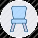 armchair, chair, desk, furniture, kitchen, seat, stool