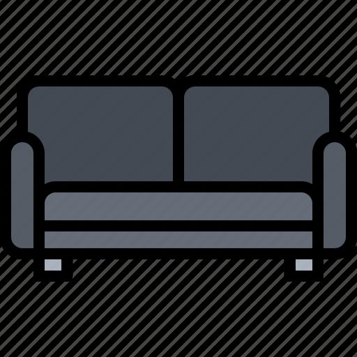 couch, decoration, furniture, home, interior, sofa icon