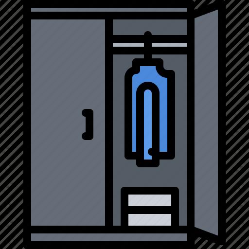 cupboard, decoration, furniture, home, interior, wardrobe icon