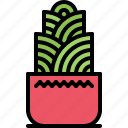 decoration, flower, furniture, home, interior, plant, pot icon