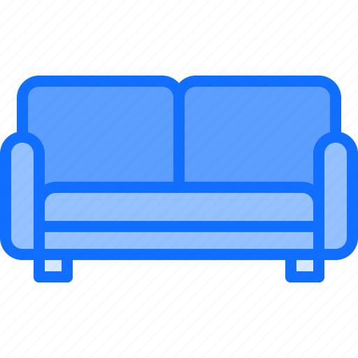 couch, decoration, furniture, home, interior, sofa icon