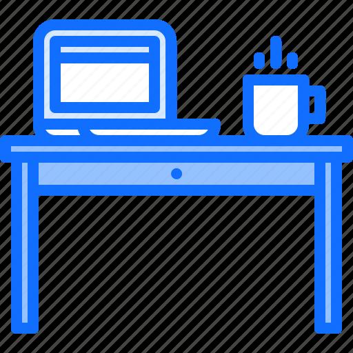 decoration, desk, furniture, home, interior, table icon