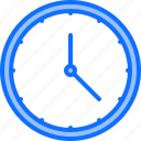clock, decoration, furniture, home, interior, time, wall icon