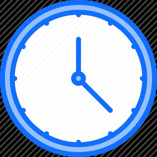 clock, decoration, furniture, home, interior, time, wall icon
