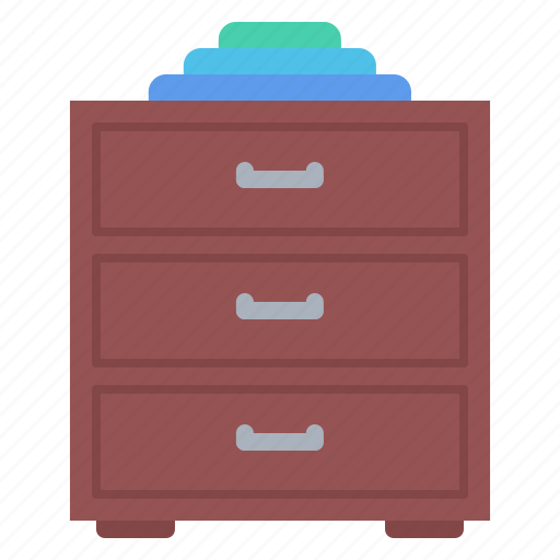 chest, decoration, drawers, furniture, home, interior icon