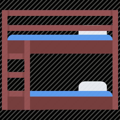 bed, bunk, decoration, furniture, home, interior icon