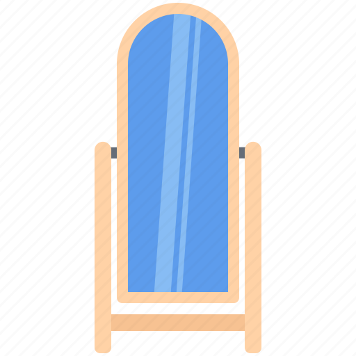 decoration, floor, furniture, home, interior, mirror icon