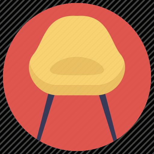 chair, desk chair, furniture, mesh chair, seat icon