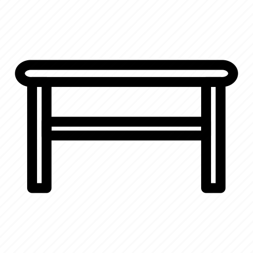 furniture, home, house, living, room, table icon