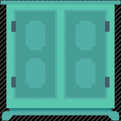 closet, cupboard, safe almirah, storage cabinet, wardrobe icon