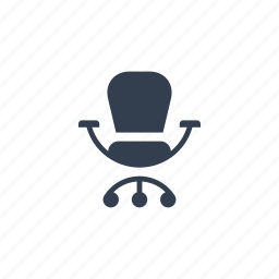 armchair, chair, furniture, indoor, interior, office, seat, working icon