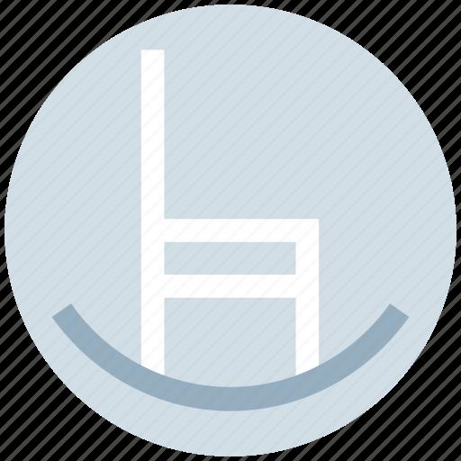 armchair, chair, floor, furniture, house, sofa icon