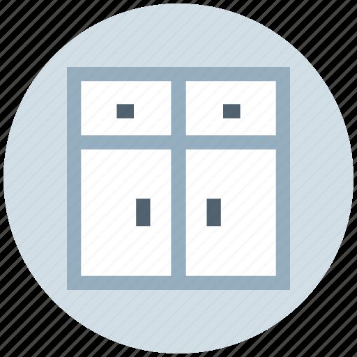 cupboard, drawer, furniture, house, interior, wardrobe icon