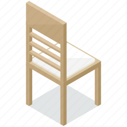 chair, dining, diningroom, furnishings, furniture, interior icon