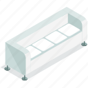 couch, furnishings, furniture, livingroom, seat icon