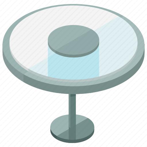 furnishing, furniture, glass, home, table, terrace icon