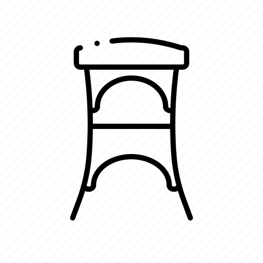 Bar, chair, furniture, interior, object, seat, stool icon - Download on Iconfinder