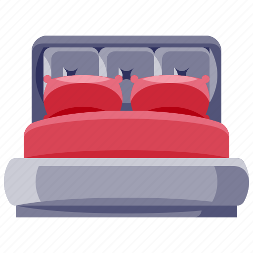 bed, furniture, home, household, interior icon