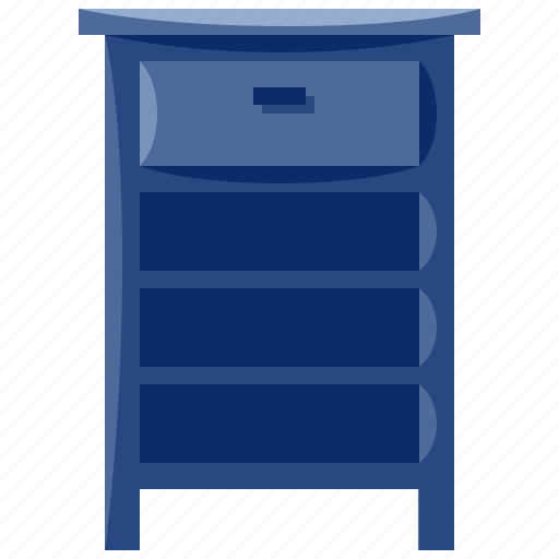 bedside, furniture, home, household, interior, table icon