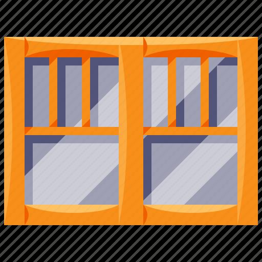 double, furniture, home, household, interior, windows icon