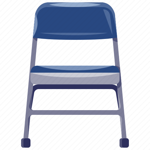 chair, folding, furniture, home, household, interior icon