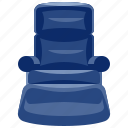 furniture, home, household, interior, recliner icon