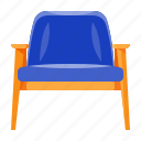 arm, chair, furniture, home, household, interior, retro