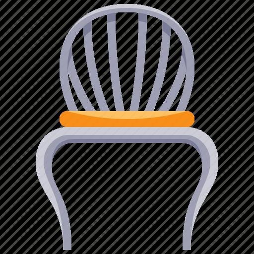 chair, furniture, home, household, interior, retro icon