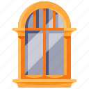 furniture, home, household, interior, window icon